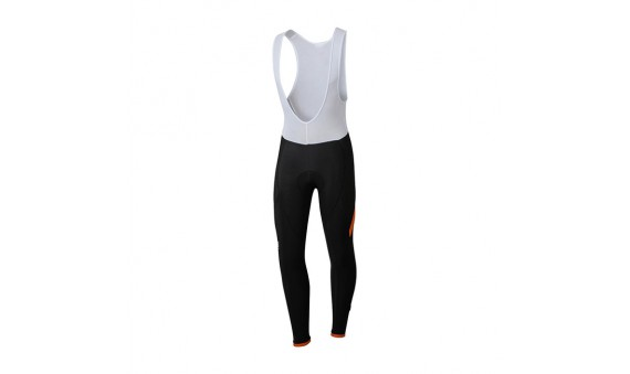 Culote largo Sportful Giro BibTight negro rojo