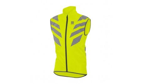 Chaleco reflectante Sportful Reflex Vest amarillo flúor