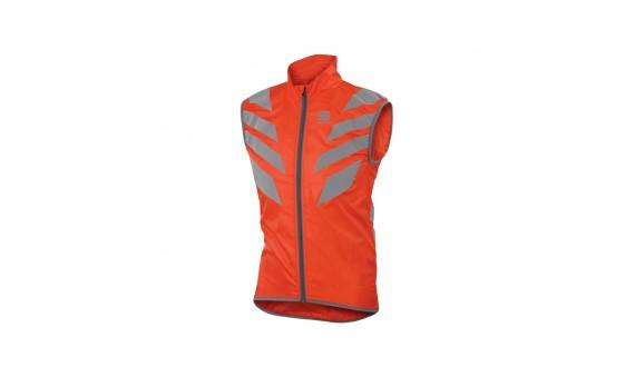 Chaleco reflectante Sportful Reflex Vest rojo