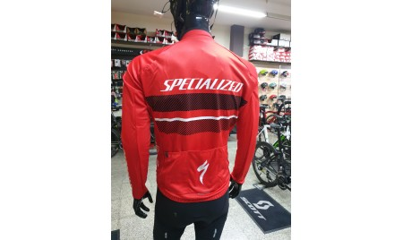 MAILLOT SPECIALIZED  THERMINAL RBX COMP ROJO