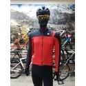 Maillot Sportful Bodyfit Pro Thermal manga larga rojo negro