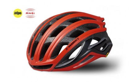 S-WORKS PREVAIL II WITH ANG ROCKET RED