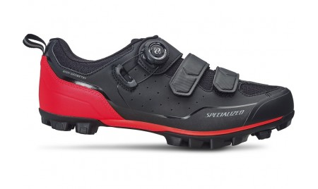 ZAPATILLAS SPECIALIZED COMP MTB 2019 BLACK/ROCKET RED
